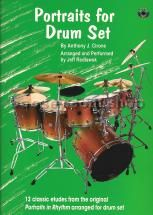 Portraits For Drum Set (Book & CD)