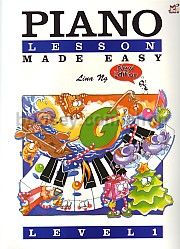 Piano Lessons Made Easy, Level 1