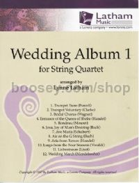 Wedding Album vol.1 for String Quartet (Set of Parts)