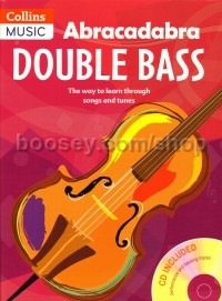Abracadabra Double Bass Book 1 (Book & CD)