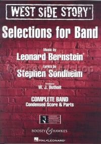 West Side Story Selections for symphonic band