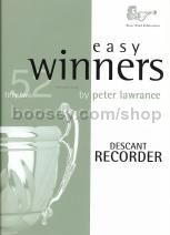 Easy Winners for Descant Recorder
