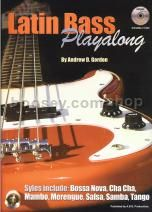 Latin Bass Playalong Book & 2 CDs