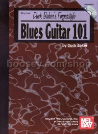 Fingerstyle Blues Guitar 101 Book & CD