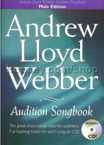 Andrew Lloyd Webber Audition Songbook Male + CD