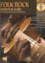 Guitar Play-Along Series vol.13: Folk Rock (Bk & CD)