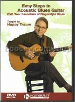 Easy Steps to Acoustic Blues Guitar DVD 2: Essentials of Fingerstyle Blues (DVD)