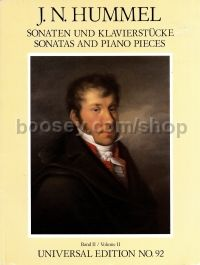 Sonatas and Piano Pieces Volume 2