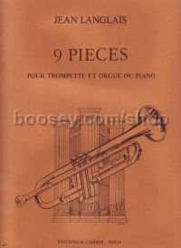 9 Pieces Trumpet/Organ