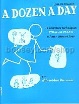 Dozen A Day Book 1 Primary (French Edition)
