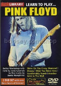 Learn To Play . . . Pink Floyd (Lick Library series) DVD