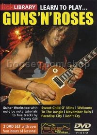 Learn To Play . . . Guns N' Roses (Lick Library series) 2xDVD