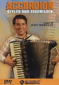 Accordion Styles & Techniques Video DVD