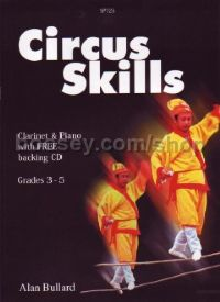 Circus Skills for Clarinet (+ CD)