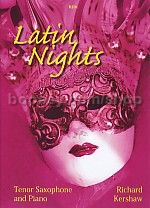 Latin Nights for tenor saxophone & piano
