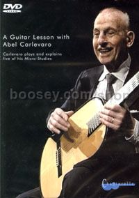 Guitar Lesson With Carlevaro Micro-Studies DVD
