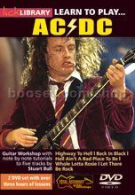 Learn To Play . . . AC/DC (Lick Library series) DVD