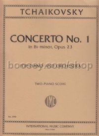Piano Concerto No.1 in Bbmin Op. 23 (2 Pianos 4 Hands)