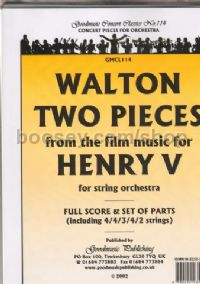 2 Pieces from Henry V