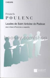 Laude de Saint Antoine de Padoue - male choir