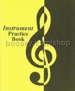 Instrument Practice Book (18 Lessons) Yellow