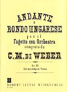 Andante And Rondo Ungarese Op. 35: Bsn P