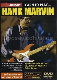 Learn To Play . . . Hank Marvin (Lick Library series) DVD
