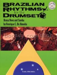 Brazilian Rhythms For The Drumset (Book & CD)