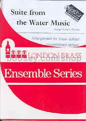 Suite from the Water Music for brass quintet (score & parts)