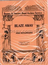 Blaze Away (Military Band Card Set)