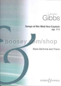 Songs of The Mad Sea Captain for Bass/Baritone and Piano