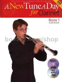 A New Tune A Day for Clarinet (Book & CD/DVD)