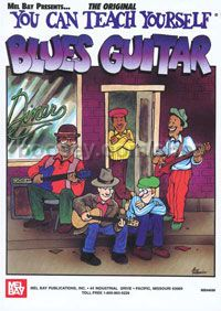 You Can Teach Yourself Blues Guitar (Book & DVD)