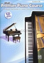 Alfred Premier Piano Course lesson Book +cd level 2a