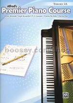 Alfred Premier Piano Course theory Book level 2a
