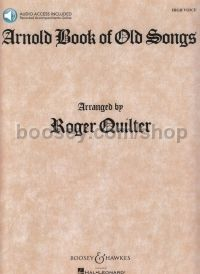 Arnold Book of Old Songs - high voice & piano