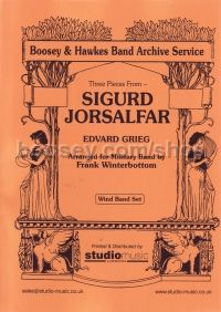 Sigurd Jorsalfar for Symphonic Band (Score & Parts)