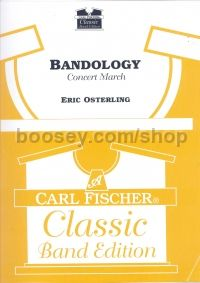 Bandology (Symphonic Band Set Score & Parts) of parts