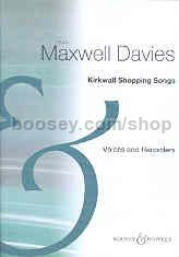 Kirkwall Shopping Songs