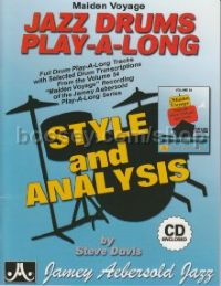 Maiden Voyage Drum Styles & Analysis (Book & CD) (Jamey Aebersold Jazz Play-along)