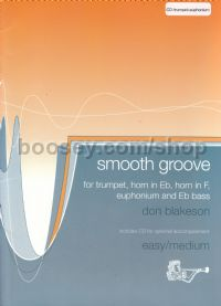 Smooth Groove for Trumpet, Horn, Euphonium & Eb Bass (+ CD)