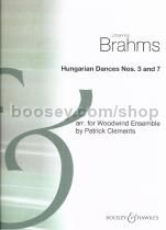 Hungarian Dances Nos. 3-7 (score & parts)