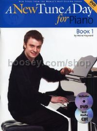 A New Tune A Day for Piano (Book & CD/DVD)