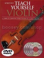 Step One Teach Yourself Violin Book /3 CD's / DVD