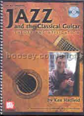 Jazz & The Classical Guitar Theory & Applic. (Book & CD)