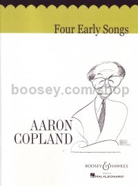 Four Early Songs - medium voice & piano