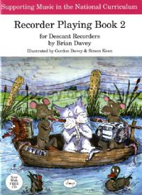 Recorder Playing Book 2 (Descant) (Book & CD)