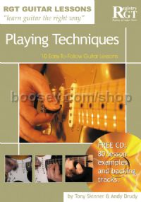 RGT Guitar Lessons Playing Techniques (Book & CD)