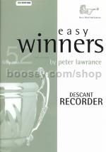 Easy Winners Descant Recorder (Book & CD)