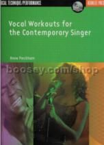 Vocal Workouts For The Contemporary Singer (Book & CD)